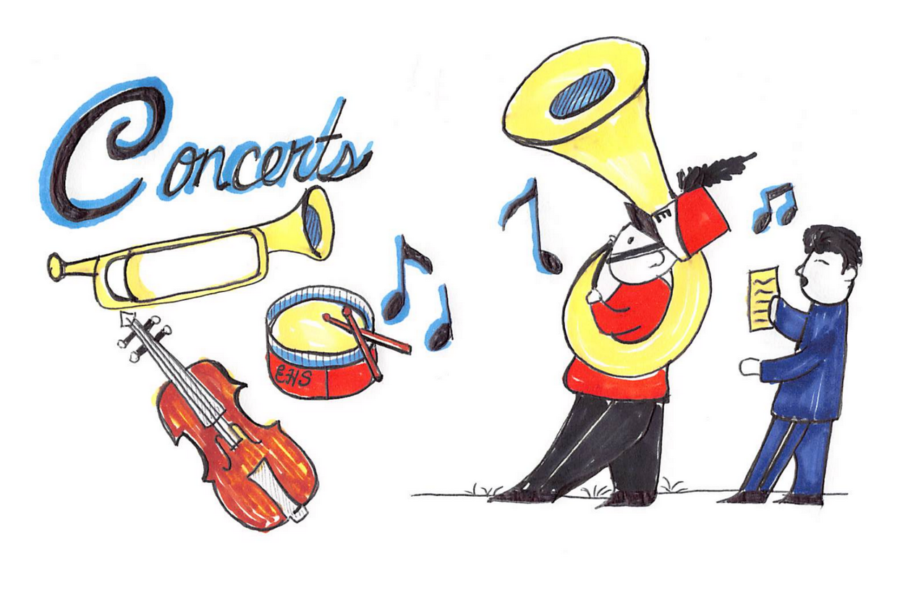 EHS Winter Concerts: Ending the Year on a High Note
