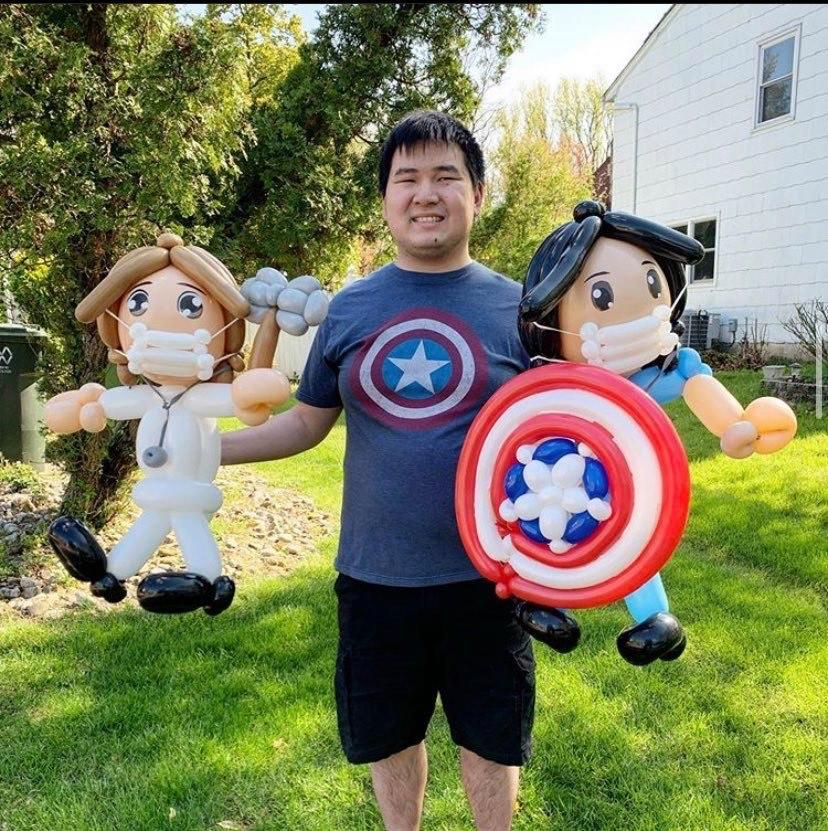 Eddie Lin: The Big-Hearted Balloon Believer