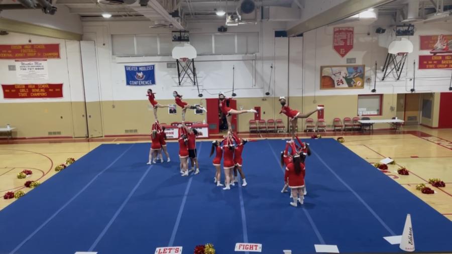 Cheer Team's Historic State Championship Win