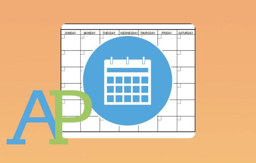 Calendar Chaos:  AP Test Countdown