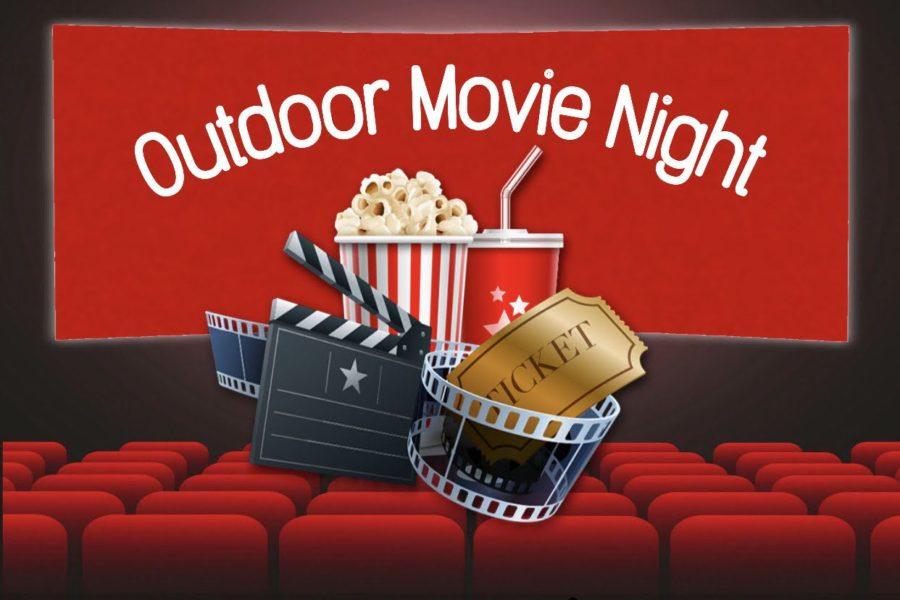 EHS Students Making Memories at Movie Night
